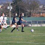 Girls varsity soccer spring 2021