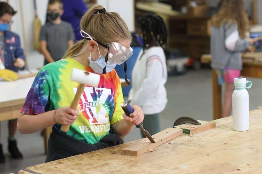 5th grade marimba making