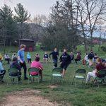 Touring Choir games at Highland Retreat. Photos by Christine Fairfield.