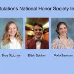 Natoinal Honor Society Inductees 2021