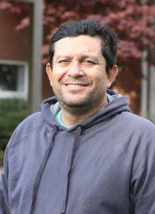 Oscar Erazo, fleet and grounds coordinator