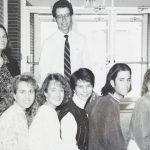 Junior class sponsor, together with Barbara Gautcher, 1991