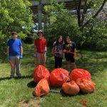 Blacks Run clean up, Community Service Day
