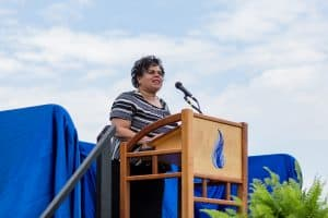 Mayor Deanna Reed, commencement 2021