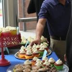 Refreshments by Buttercream Bakery LLC, a business by Mary Bender '13 Leichty