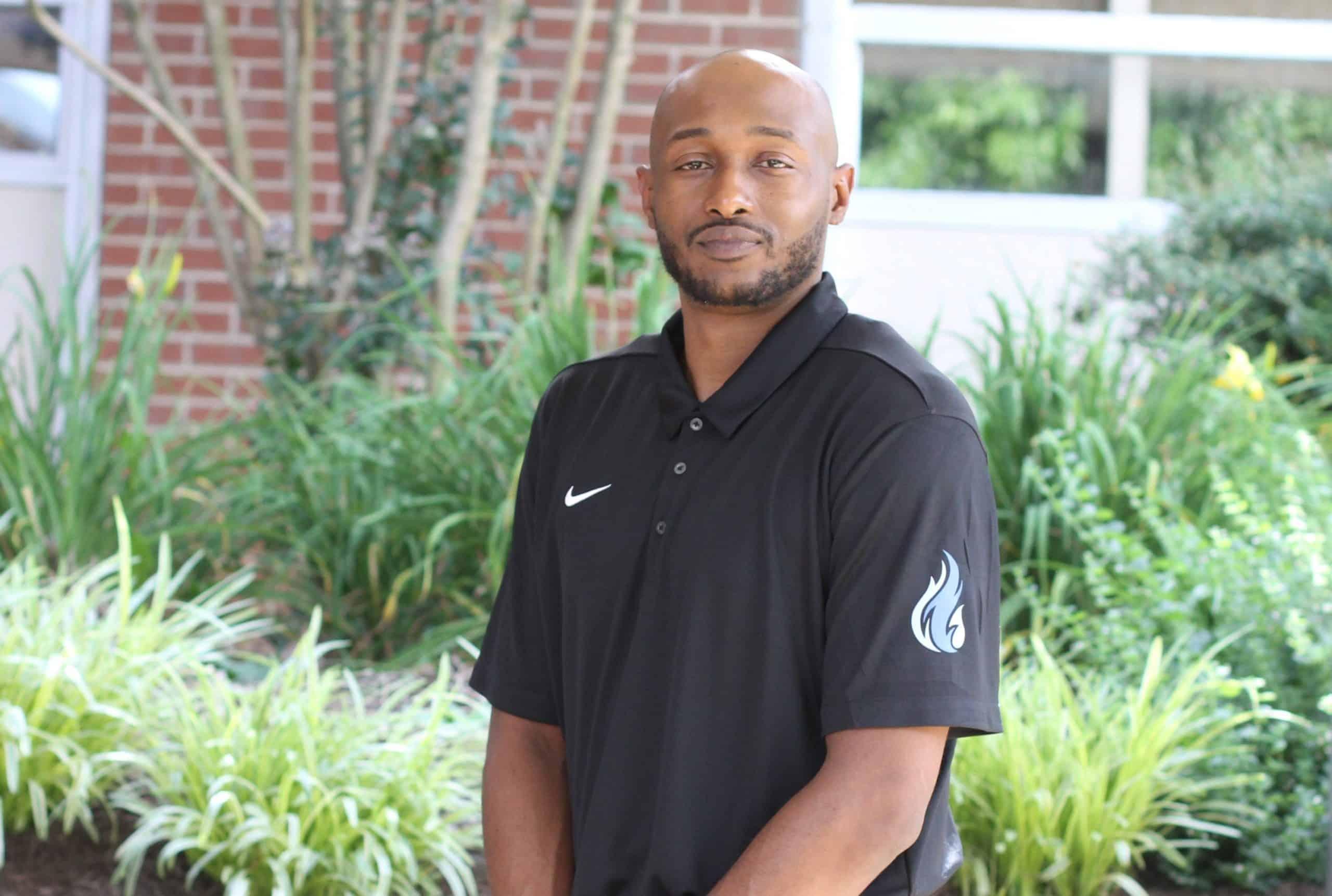 Eli Crawford, boys varsity basketball coach