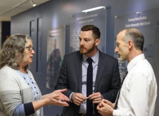 Maria Archer, Justin King and Curt Stutzman