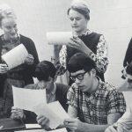 Ember yearbook meeting, 1966