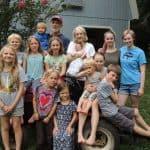 John and Kathryn Fairfield with their grandchildren