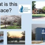 """A chapel presentation talked about the land, the building, and special memorials on campus. """"What is this place?"""""""