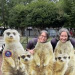 Class sponsors Jodi Hertlzer and Shannon Roth at the National Zoo